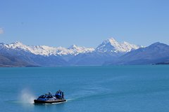 Imagen Hovercraft Amphibious Afternoon Adventure Cruise on Lake Pukaki from Twizel