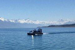 Imagen Hovercraft Ethereal Evening Experience Cruise on Lake Pukaki from Twizel