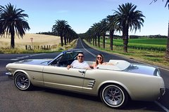 Imagen Barossa Uncut Half Day Classic Mustang Convertible Tour For 2