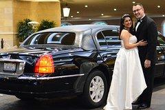 Las Vegas Wedding at The Little Vegas Chapel including Limousine Transportation
