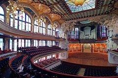 Barcelona Catalonia Palau de la Música Concerts July-December (Modernist Concert Hall UNESCO World Heritage) 6813P49