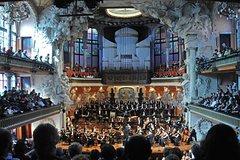 Barcelona Catalonia Palau de la Música Concerts April-July 2019 (Modernist Concert Hall UNESCO World Heritage) 6813P50