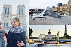 Imagen Skip the Line Louvre & Cruise Tickets with Notre Dame Guided Tour