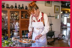 Private cooking class at a Cesarina's home with tasting in Verona