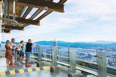 Imagen Entrada a la plataforma de observación de la torre de KL