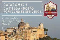Catacombs & Castelgandolfo Pope Summer Residence Tour