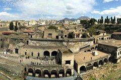 Day Trip to Herculaneum Ruins & Mt Vesuvius