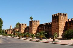 From Agadir Port : Taroudant and Tiout Oasis Private Car Transfers