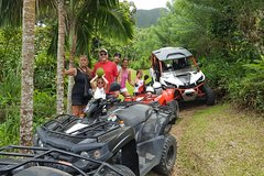 Imagen Sunny Blue Rentals in St Kitts for ATV and Dune Buggy Combo Tours