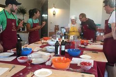 Traditional Cooking Class in Assisi in an organic winery