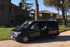 Private transfer from Florence city or airport to Umbria Assisi-Perugia area