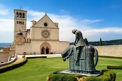 Rome to Florence luxury transfer with Orvieto & Assisi tour and light lunch