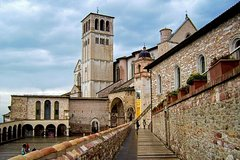 Full day tour of Assisi including St Francis Basilica and Porziuncola