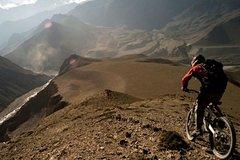 Imagen Excursión privada: Aventura de día completo de bicicleta de montaña en los Andes