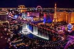 Las Vegas Limousine Transfer Downtown Hotels: Up to 6 Passengers