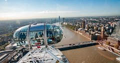 Ride the London Eye & See over 20 top London Sights tour (kids nearly free)