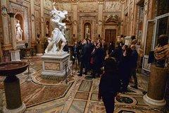 Borghese Gallery semi-private - 10 participants