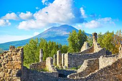 Pompeii and Mount Vesuvius from Positano: Small group tour with tickets inc