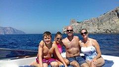 Private Boat Tour From Capri to Positano and Amalfi