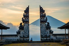 Abang Bali Gate of Heaven (A View of Mt Agung from Lempuyang Temple) 7876P60
