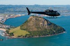 Imagen Mount and Maketu Helicopter Flight From Tauranga
