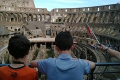 Rome private shore excursion for families with kids: skip the line Colosseum tour