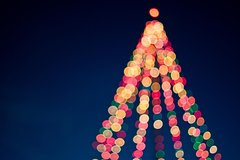 NYC Private Holiday Lights Tour by Limo