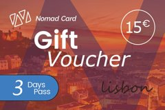 Nomad Card City - 3 Days Discount Card for Lisbon