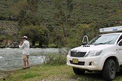 Imagen Motorhome Rental: Toyota Hilux with Slide in Fourwheel Camper