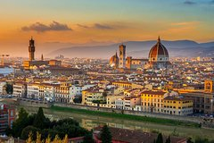 Private Tour:Florence in One Day with Accademia-Uffizi Galleries,Piazzas,Markets