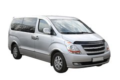 Transfer in private minivan from New York City Manhattan to J F Kennedy Airport