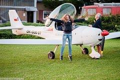 Imagen Flying lesson on a ultra light plane