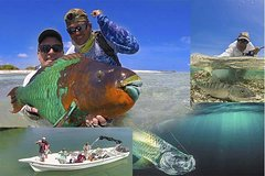 LOS ROQUES PRIVATE FISHING CHARTERS WITH PHOTO SHOOT - VIDEO DRONE