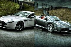Imagen Drive a Ferrari F430 & Aston Martin V8 Vantage with EVO X Hot Lap