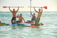 Honolulu Hawaii Private Stand-Up Paddle Boarding Lesson on Waikiki Beach 8942P4