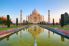Taj Mahal Agra Tour by Train With All Meals & Entrances