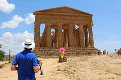 Agrigento Helicopter Tour including tour of the Valley of Temples