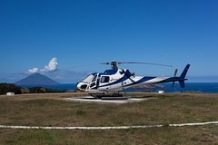 Etna, Taormina and Aeolian Islands Helicopter Tour