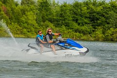 Two-Hour Twin Jet Ski Island Safari on the Gold Coast