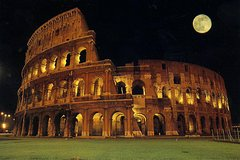 Colosseum Under the Moon Including Underground and Arena Floor