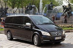 Imagen Private Departure Transfer: Central London to Luton Airport in a Luxury Van
