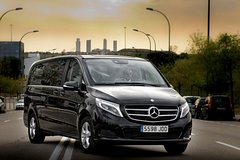 Imagen Private Departure Transfer: Central London to Gatwick Airport in a Luxury Van