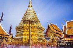 Ver la ciudad,Tours temáticos,Tours históricos y culturales,Excursión a Templos de Chiang Mai