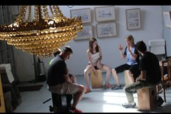 Imagen Flamenco Drum Box Workshop in Seville