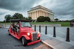 Washington DC Monuments by Moonlight Electric Cart Tour