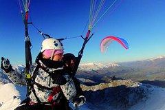 Imagen Coronet Peak Tandem Paragliding In Winter