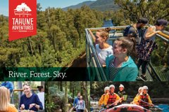 Imagen Tahune Airwalk Admission with Optional Cable Hang Gliding From Geeveston