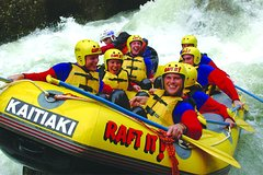 Imagen White Water Rafting with Optional Adventure Packages Tauranga Shore Excursion to Rotorua