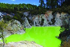 Imagen Rotorua Eco Thermal Wonderland Small Group Morning Tour Wai O Tapu Lady Knox Geyser Hot Mud
