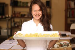 Semi private cooking class with professional chef in private villa optional market visit and transfer from Florence